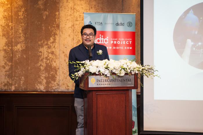 คุณธนัช จิรวารศิริกุล ผู้อำนวยการ ศูนย์นวัตกรรมการออกแบบดิจิทัลและเทคโนโลยี (DIDTC)