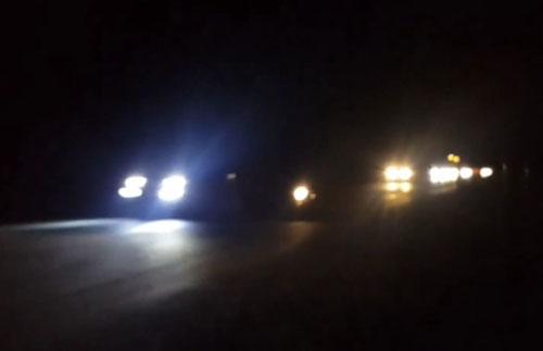 ชาวบ้านพนมทวน วอนรัฐ ติดไฟส่องสว่าง ถนนสาย 346 พนมทวน-กำแพงแสน ป้องกันอุบัติเหตุ