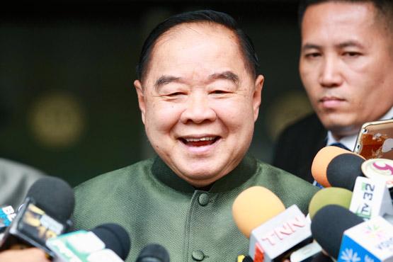 พล.อ.ประวิตร วงษ์สุวรรณ รองนายกรัฐมนตรี และรัฐมนตรีว่าการกระทรวงกลาโหม (แฟ้มภาพ)
