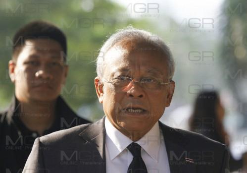 สุเทพ เทือกสุบรรณ ประธานมูลนิธิมวลมหาประชาชนเพื่อการปฏิรูปประเทศไทย (แฟ้มภาพ)