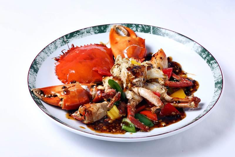 ปูเนื้อผัดพริกไทดำ