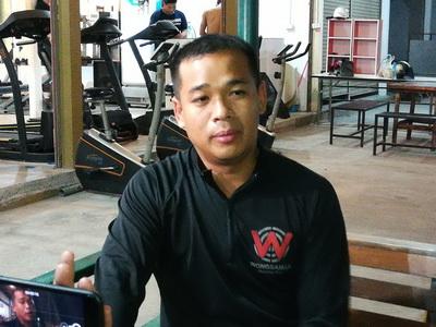 พ.ต.ท.ปฐวี ก้อนวิมล รอง ผกก.ป้องกันปราบปราม สภ.หนองวัวซอ