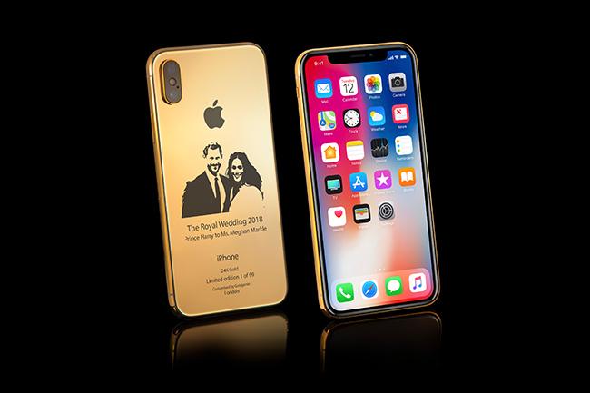 iPhone X Elite Royal Wedding Edition
