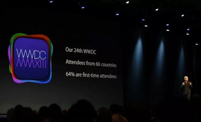 สถิติที่เกิดขึ้นในงาน WWDC ครั้งก่อน มีผู้ร่วมงานจาก 66 ประเทศทั่วโลก เกินครึ่งเป็นผู้ร่วมงานรายใหม่