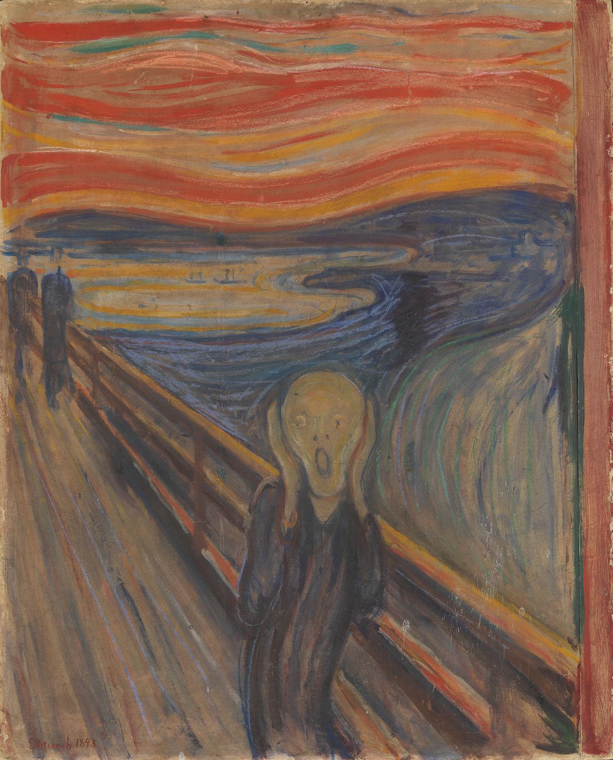 ภาพ The scream (National Gallery of Norway)