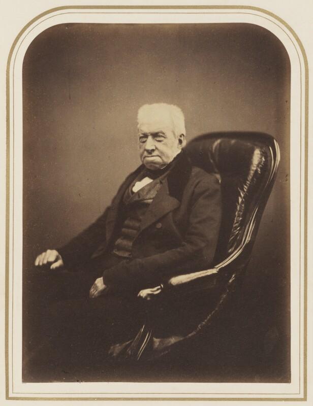 ภาพถ่าย Robert Brown  เมื่อปี 1855 โดย Maull & Polyblank (National Portrait Gallery, London)