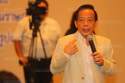 ประสาร มฤคพิทักษ์ สมาชิกผู้ก่อตั้ง พรรครวมพลังประชาชาติไทย (แฟ้มภาพ)