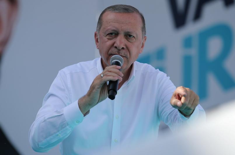 """ตุรกีเริ่มเก็บภาษีสินค้ามะกัน $266.5 ล้าน แก้แค้น """"ทรัมป์"""" รีดภาษีเหล็ก"""