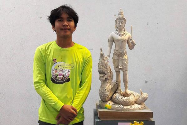 ปรบมือรัวๆ! นศ.ทัศนศิลป์ มรภ.โคราชเจ๋ง สร้างชื่อคว้ารางวัลประกวดศิลปะระดับประเทศต่อเนื่อง