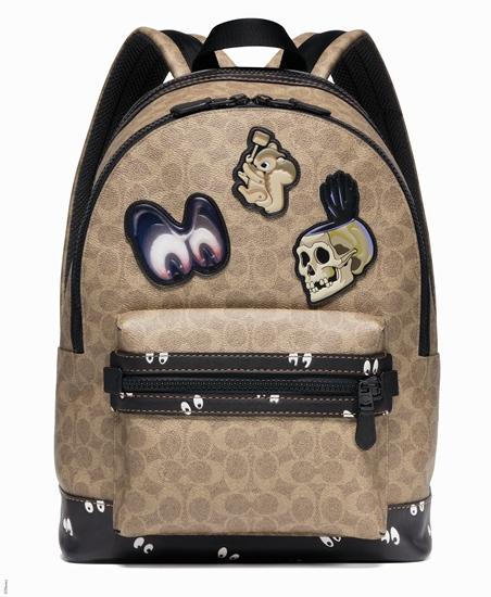 กระเป๋าหนังแคนวาสสุดเท่ รุ่น Khaki จาก Coach