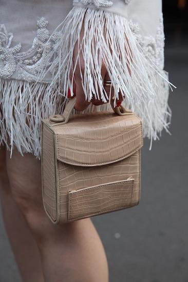 กระเป๋าหนังจระเข้ของ PELLEVAH (เปเลวา) รุ่น Audrey (ออเดรย์)