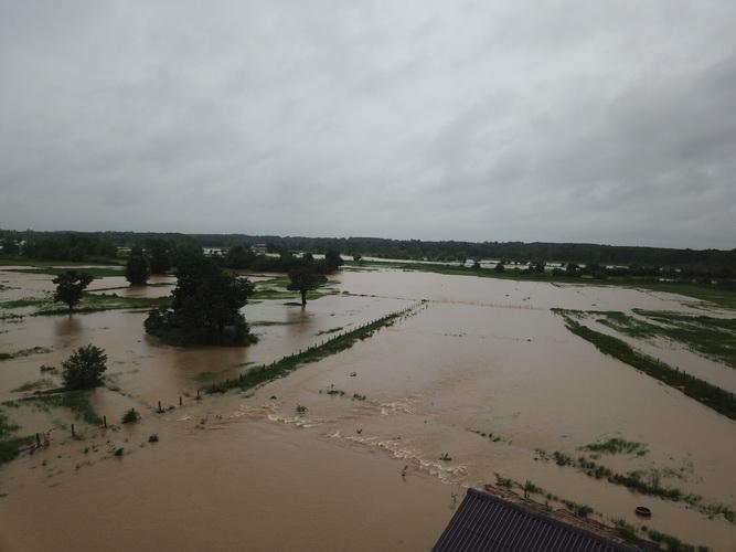 สภาพน้ำท่วมในพื้นที่ อ.ท่าอุเทน นครพนม