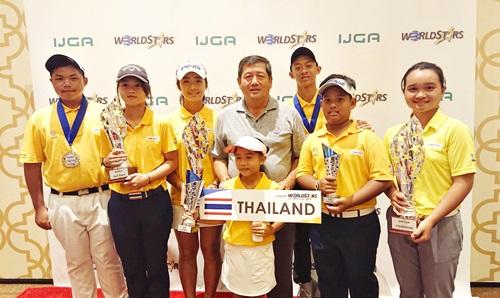 3 เยาวชนไทยคว้าแชมป์เวิลด์มาสเตอร์สที่ลาสเวกัส