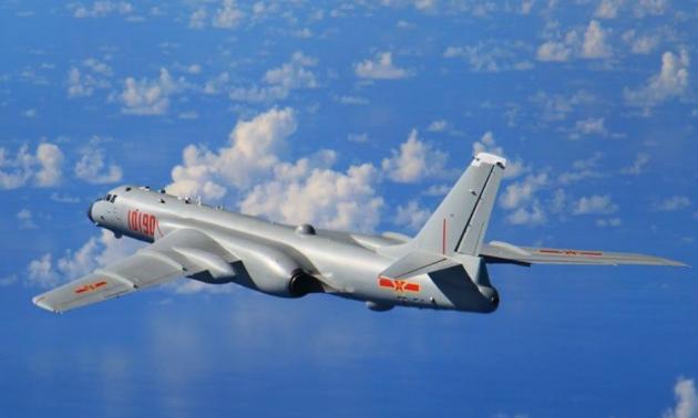 กองทัพจีนส่งเครื่องบินทิ้งระเบิดทางยุทธศาสตร์ H-6K ไปเข้าร่วมการแข่งขันทางทหารที่รัสเซีย