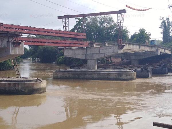 แขวงทางหลวงชนบทตรัง แจ้งปิดทางเบี่ยงสร้างสะพานข้ามแม่น้ำตรัง 23-24 ก.ค.นี้
