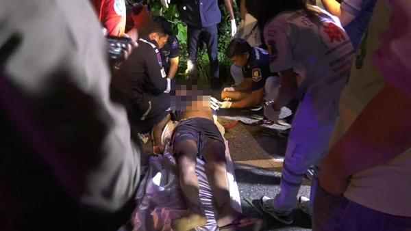 พบศพชายวัย 36 ปี ริมถนนสายเขาสมิง-บ่อไร่ จ.ตราด คาดถูกฆาตกรรม