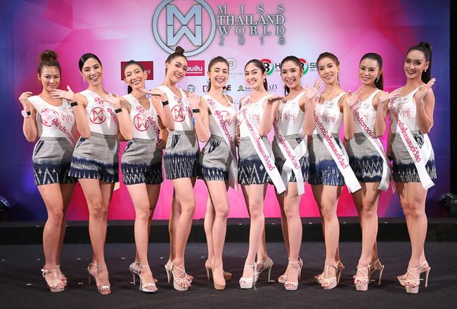 """ชมออร่า 30 สาว """"มิสไทยแลนด์เวิลด์"""" ว่าที่เจ้าของมงกุฎและรางวัลรวม 10 ล้าน"""