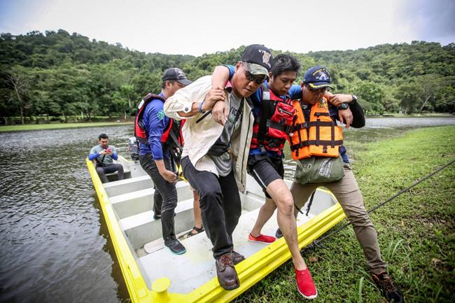 """ส.นักข่าวจัดอบรม """"เซฟตี้เทรนนิ่ง"""" ปีที่ 9 เพิ่มทักษะทำข่าวความขัดแย้ง-ภัยพิบัติ"""