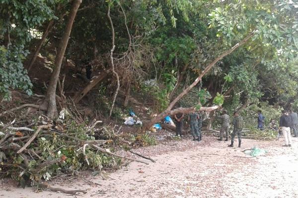 ป่าไม้แจ้งความตามจับคนรุกป่า เกาะนาคาน้อย จ.ภูเก็ตใกล้แปลงดาราดัง