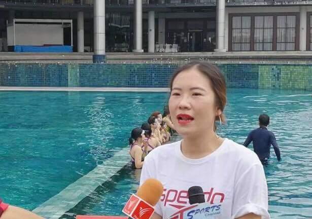 สปีโด้ ดึงนักว่ายน้ำทีมชาติ สอนคนหูหนวก
