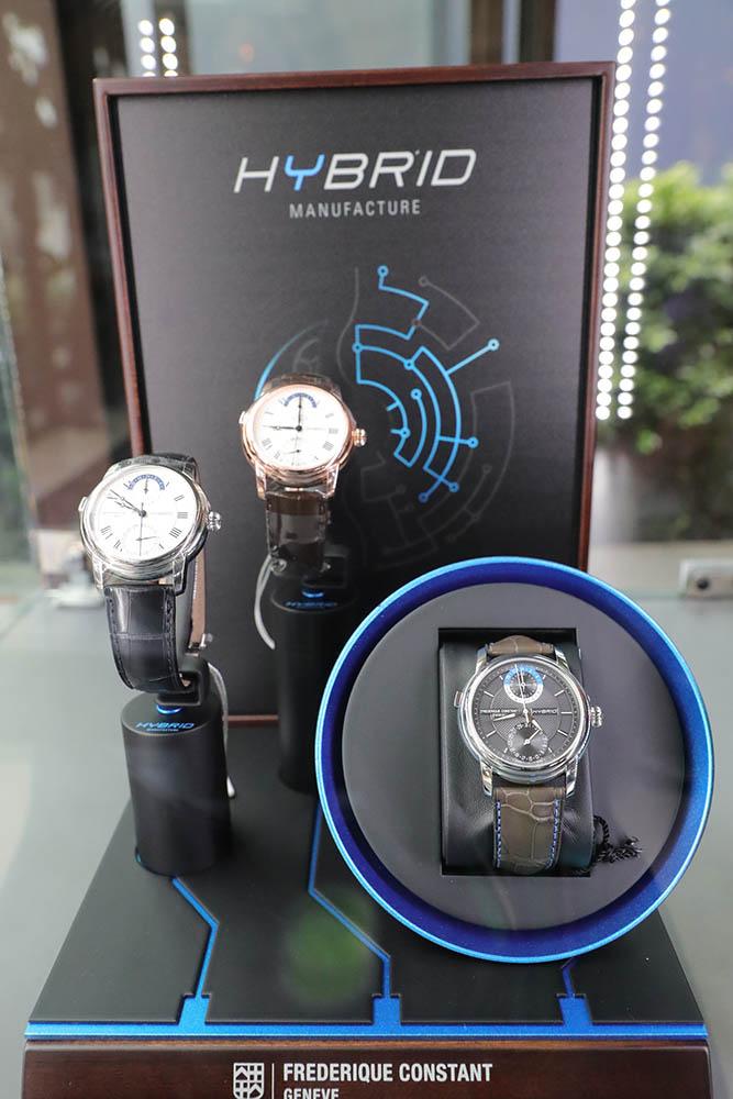 """ศรีทองพาณิชย์เปิดตัวสุดยอดนาฬิการะบบไฮบริดเรือนแรกของโลก FREDERIQUE CONSTANT รุ่นพิเศษ """"3.0 Hybrid Manufacture"""" สุดหรูคู่ข้อมือคุณ"""