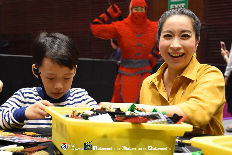 ช่อง 13 พาน้องกว่า 80 คน เปิดประสบการณ์งานเลโก้ระดับโลก
