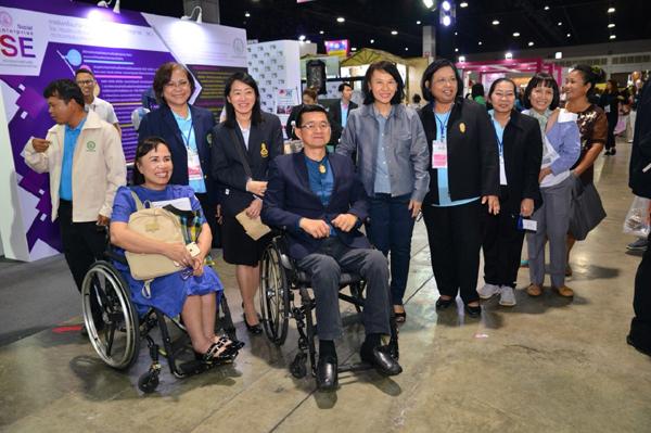 พส. ชู 'สานพลังสังคม เพื่อพัฒนาคน พัฒนาชาติ ตามรอยศาสตร์พระราชา' ในงาน Thailand Social Expo 2018
