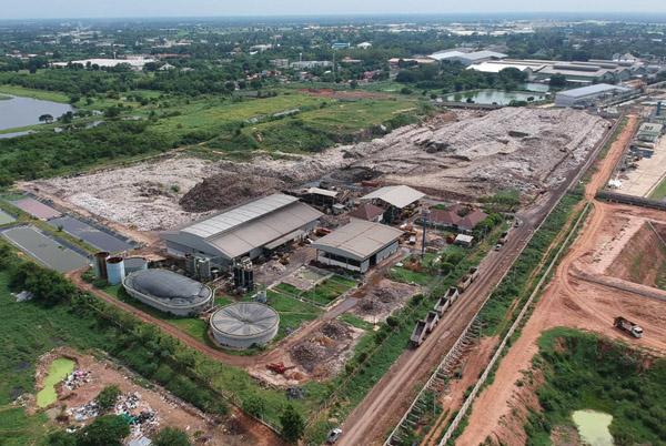 ศูนย์ระบบกำจัดขยะมูลฝอย ระยะที่ 1 และที่ตั้งโครงการก่อสร้างไฟฟ้าขยะ ระบบกำจัดขยะมูลฝอย ระยะที่ 1 ของเทศบาลนครนครราชสีมา ที่ราชพัสดุ กองทัพภาคที่ 2 อ.เมือง จ.นครราชสีมา กว่า 153 ไร่