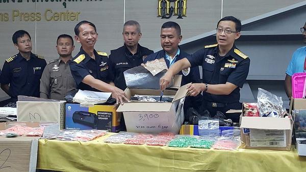 จับยาเสพติดส่งทางไปรษณีย์ปลายทางเมืองไทย 2 เดือน 40 คดี มูลค่า 23 ล้าน