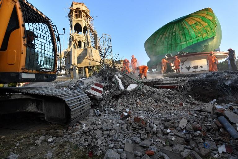 เหยื่อแผ่นดินไหว'ลอมบ็อก'พุ่ง98ศพ  อินโดนีเซียเร่งอพยพนักท่องเที่ยว2พัน