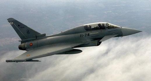 """InClip:เครื่องบินขับไล่สเปน """"บังเอิญ"""" กดปุ่มยิงขีปนาวุธเหนือท้องฟ้าเอสโตเนียระหว่างฝึก"""