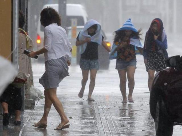 """""""ไต้ฝุ่นชานชาน"""" จ่อซัดญี่ปุ่น ทางการเตือนภัยฝนตกหนัก-ลมแรงทั่วโตเกียว"""