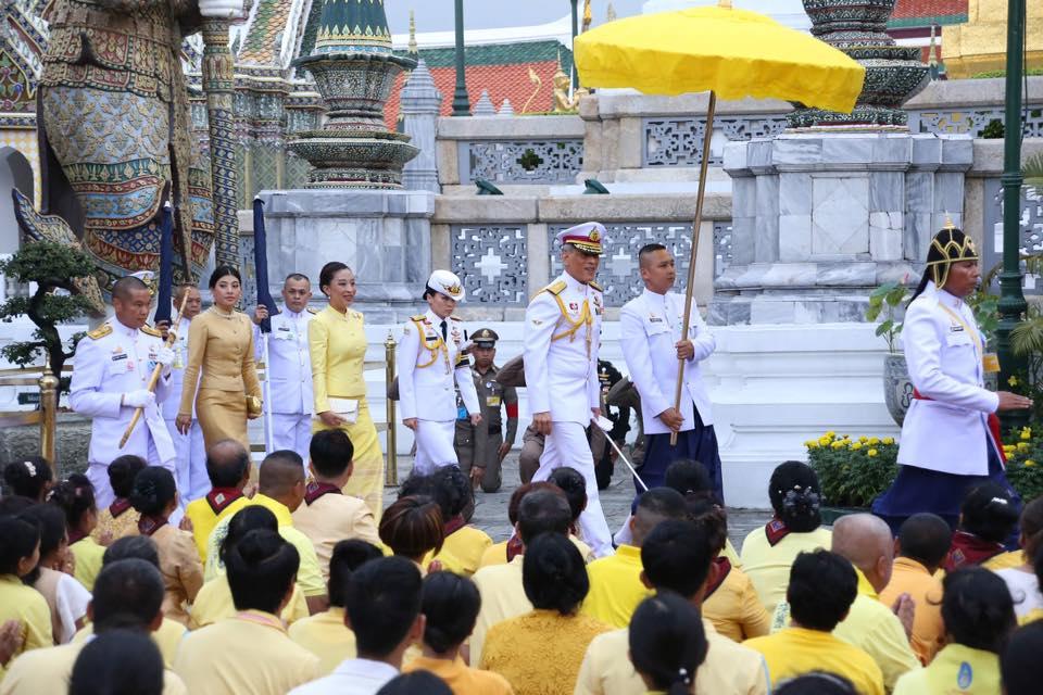 มเด็จพระเจ้าอยู่หัว จะเสด็จพระราชพิธีทรงบำเพ็ญพระราชกุศล วันเฉลิมฯ ราชินี ใน ร.๙