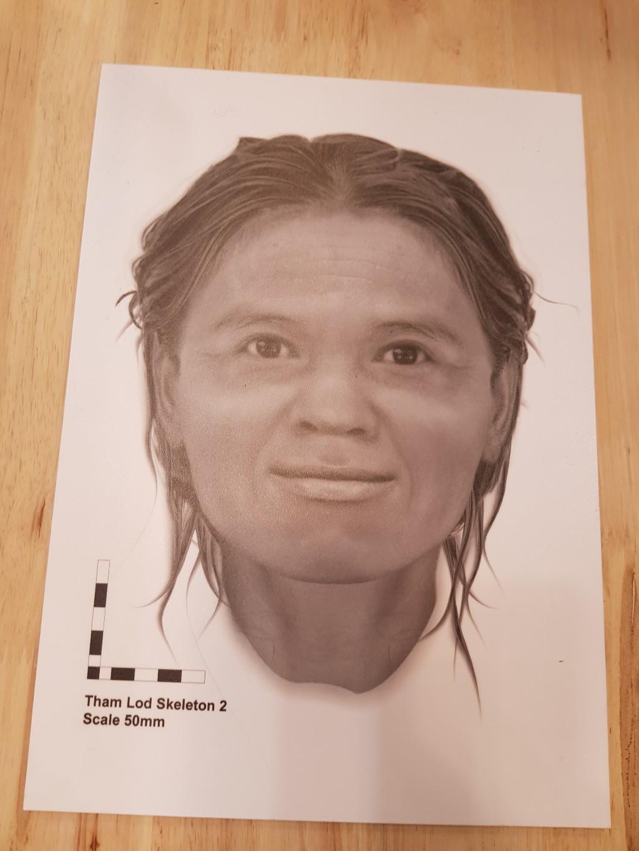 ใบหน้าสองมิติของหญิงโบราณอายุกว่า 12,000 ปี
