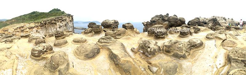 ปรากฏการณ์ทางธรณีรูปลักษณะเฉพาะตัว บริเวณหินช้าง