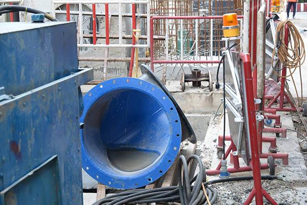 """คาดระบบระบายน้ำดันท่อ """"ย่านเยาวราช"""" เสร็จใน ก.ย.นี้ ลดปัญหาน้ำท่วม"""