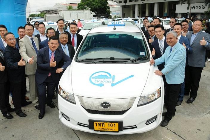 ขบ.เปิดตัวรถแท็กซี่ไฟฟ้า100% เริ่มวิ่ง 9ก.ย. จ่ายมิเตอร์เริ่มต้น 150 บาท