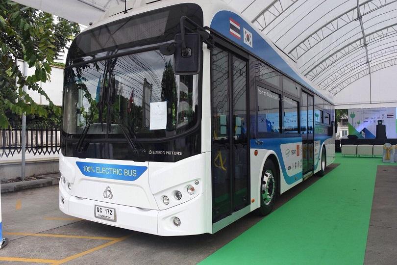 ขสมก.ทดลองรถเมล์ไฟฟ้าต้นแบบ  เริ่มเสาร์ 18 ส.ค.   เตรียมแผนซื้อรวม 35 คัน