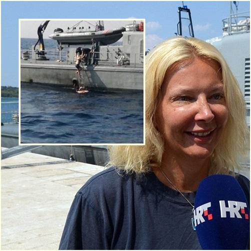 "In Clips: สุดอึ้ง!! ""ผู้หญิงอังกฤษ"" ตกเรือสำราญนอร์เวย์ ลอยคอกลางทะเลเอเดรียติกนานร่วม 10 ชั่วโมง พบต้องร้องเพลงแก้หนาวระหว่างรอในน้ำ"