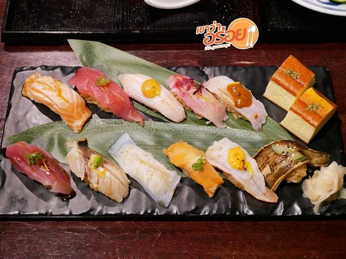 Meiji Edomae sushi set