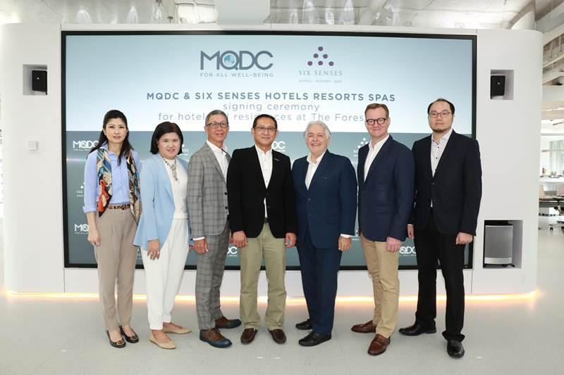MQDC ดึงแบรนด์สุดหรู ซิกส์เซ้นส์ เปิดตัวแห่งแรกที่โครงการ เดอะ ฟอร์เรสเทียส์