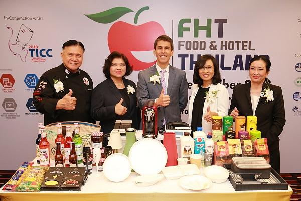 อานิสงค์เที่ยวไทย 3 ล้านล้านบาท ดันงานฟู้ดแอนด์โฮเทล ไทยแลนด์ 2018 โตเพิ่ม 20%