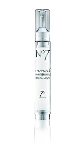 No7 Laboratories Line Correcting Booster Serum เซรัมจัดการกับริ้วรอยลึก ราคา 1,750 บาท