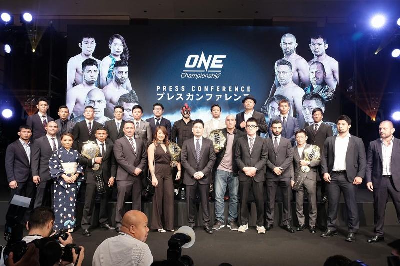 """มวย """"ONE"""" ถึงคราวบุกแข่งที่ญี่ปุ่น ดีเดย์เปิดสังเวียน มี.ค. 2019"""