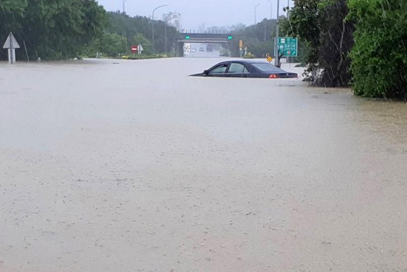 'ไต้หวัน' เจอฤทธิ์ดีเปรสชันทำฝนตกหนัก-น้ำท่วม ดับแล้ว 6 ศพ