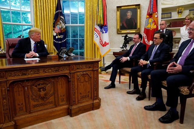 สหรัฐฯ,เม็กซิโกบรรลุข้อตกลงNAFTAใหม่ เปิดทางแคนาดากลับสู่โต๊ะเจรจา