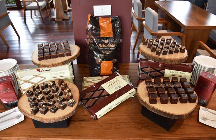 Chocolate Hour มีบริการฟรีทุกวัน