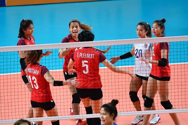 ตบสาวไทย อัดเวียดนาม 3-0 ลิ่วรอบรองชนะเลิศ