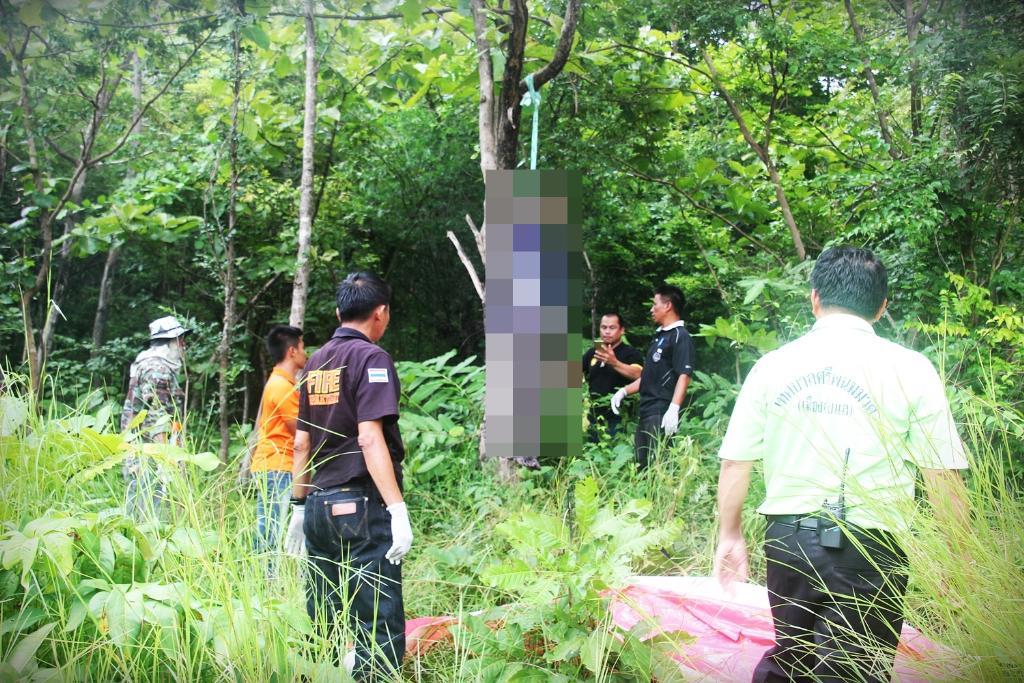 เศร้าสลด!บิดานักฮอกกี้ทีมชาติไทย คิดสั้นผูกคอเสียชีวิตกับต้นสักกลางป่าชุมชนฯลับแล