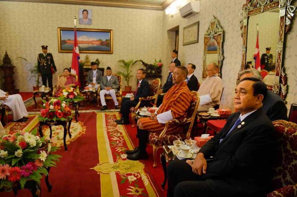 นายกฯ ถึงเนปาล เข้าพบผู้นำ เตรียมร่วมพิธีเปิดประชุมFourth BIMSTEC Summit